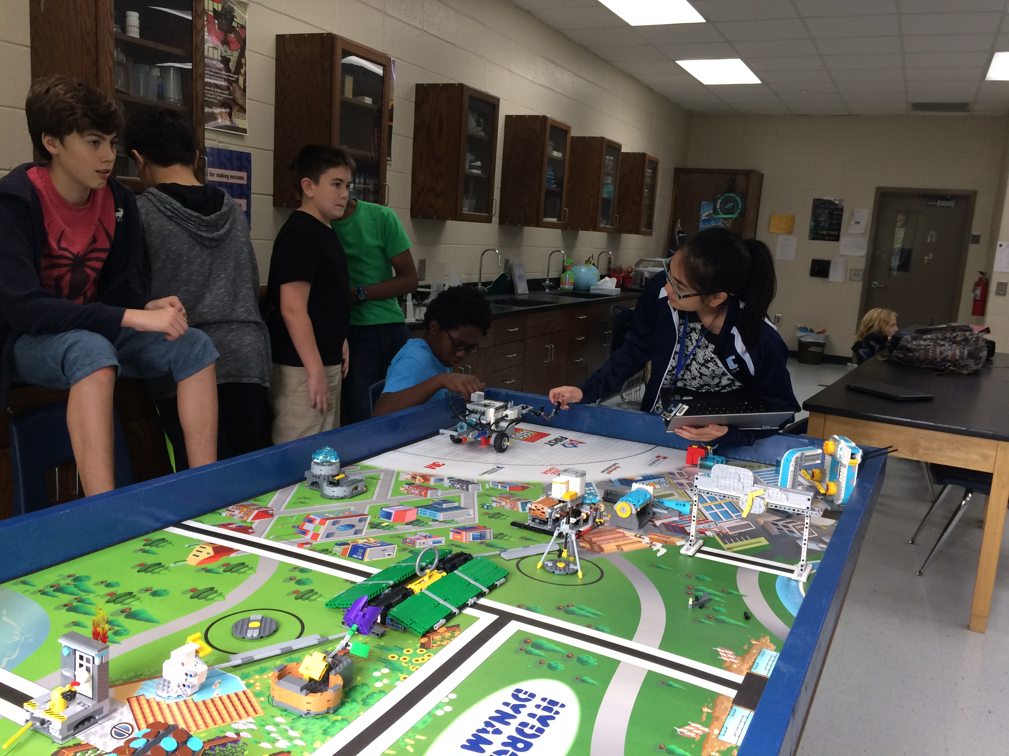 Mentoring FIRST Lego League